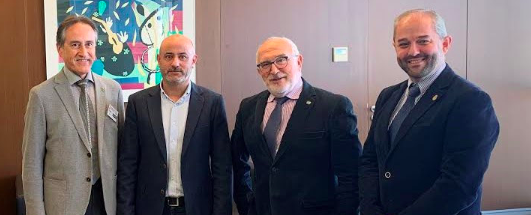 Importante avance en la agilización de licencias tras la reunión de los colegios de ingenieros con la Consellería de Política Territorial, Obras Públicas y Movilidad