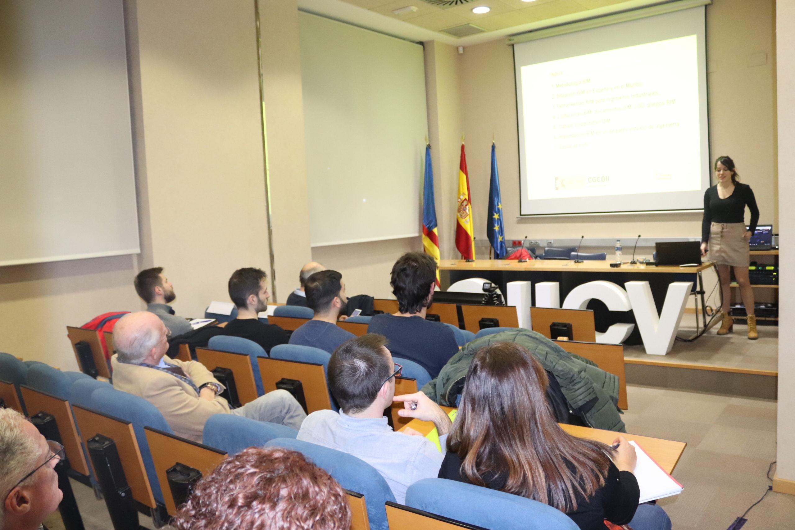 El COIICV acoge la primera Jornada de un proyecto de divulgación BIM