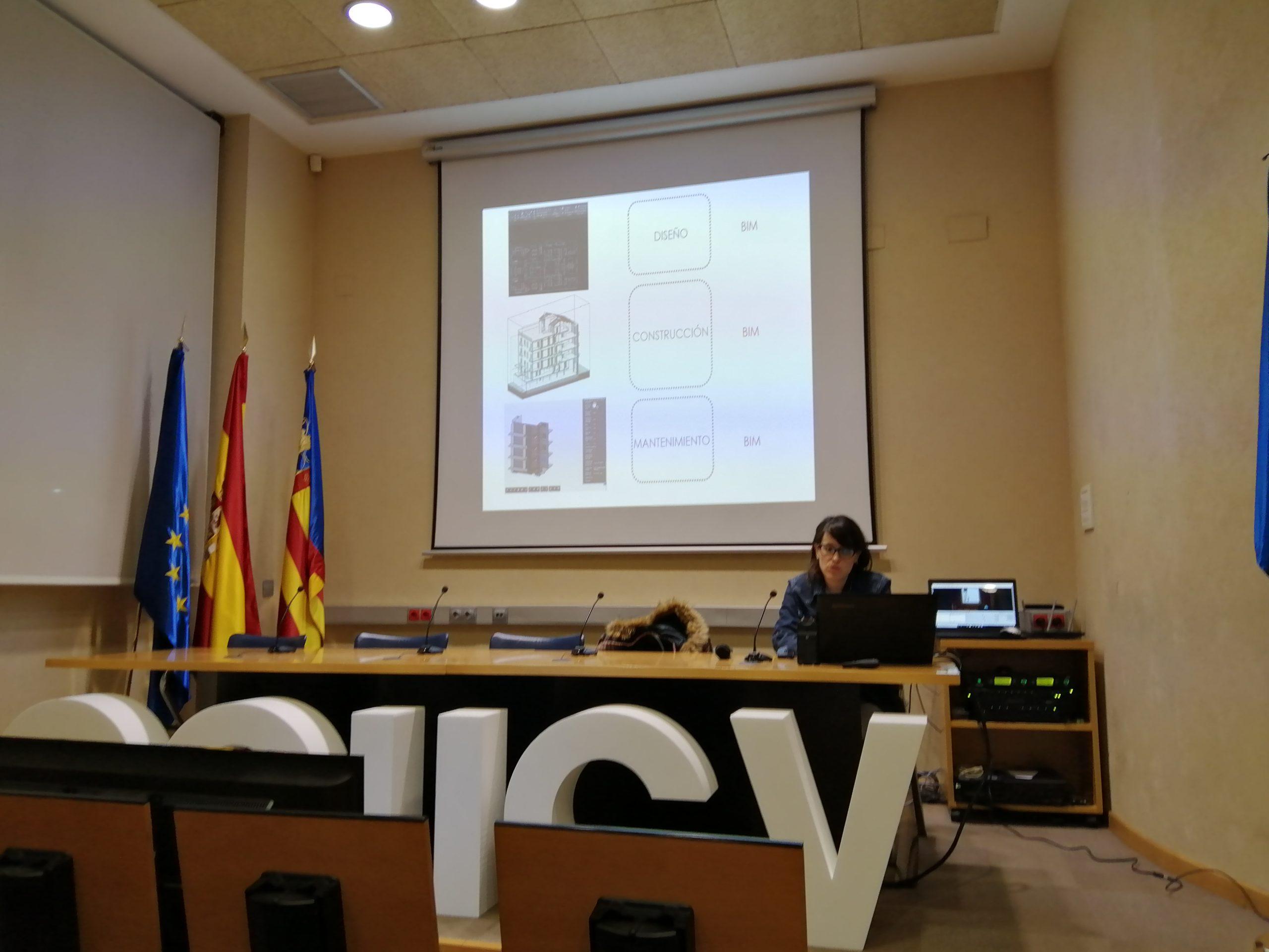 El COIICV celebra la tercera jornada de BIM en construcción de la mano de Isabel Jordán
