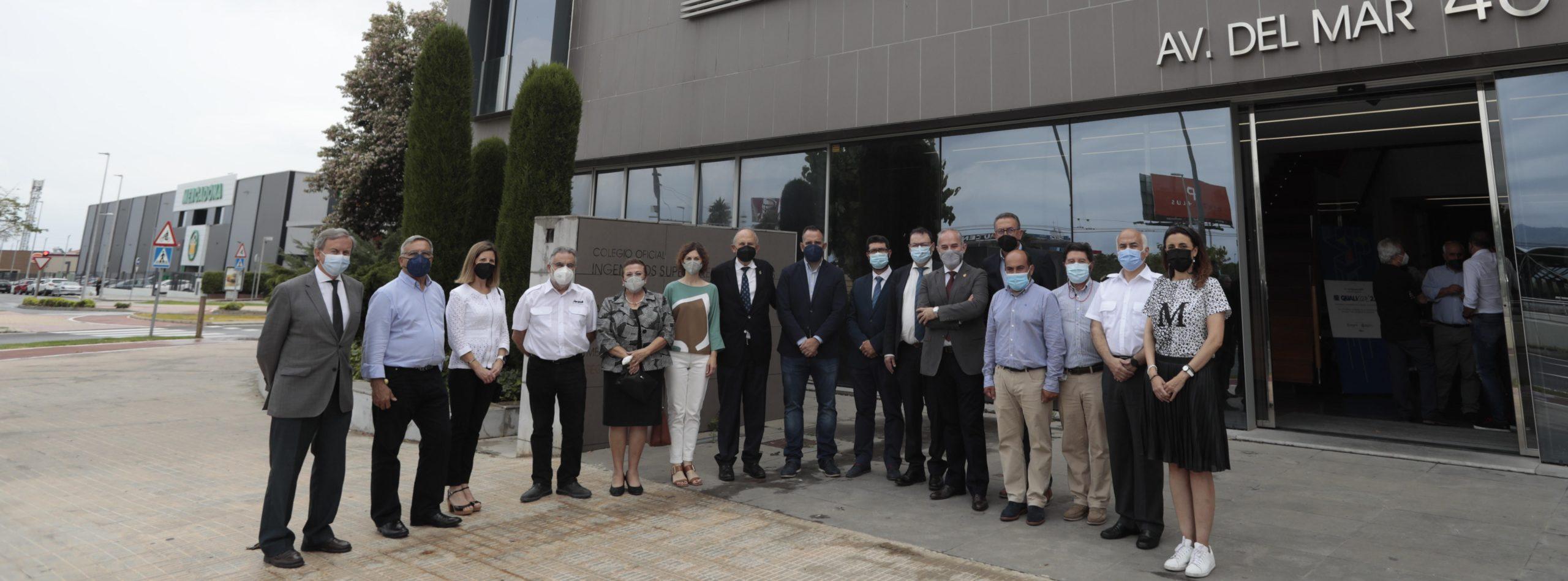 La sede del Colegio de Ingenieros Industriales de Castellón presenta el Comité Técnico Internacional de Qualicer
