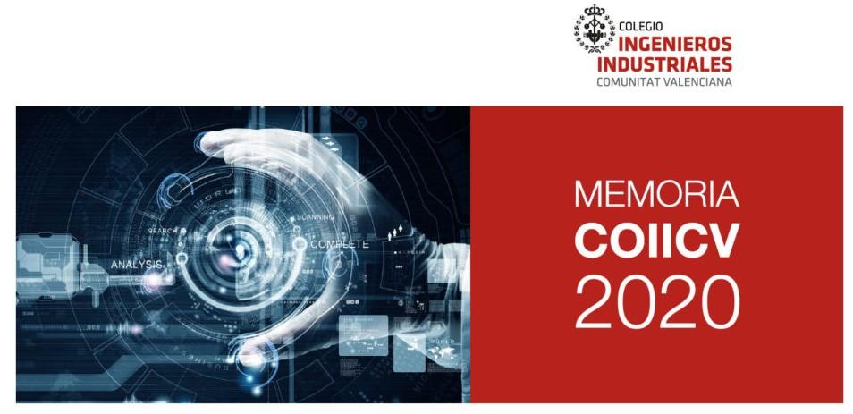 Disponible la Memoria Económica y de Actividades del COIICV 2020